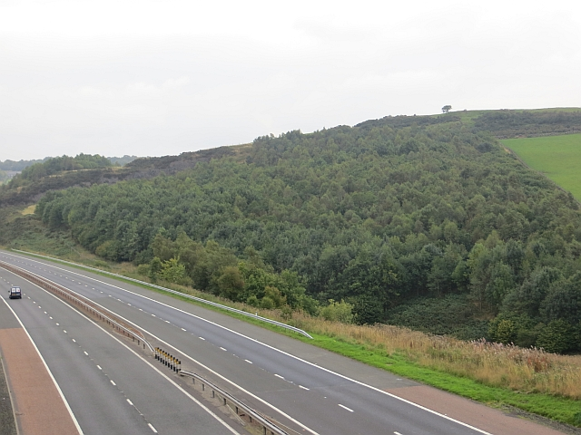 M90 near Glenfarg