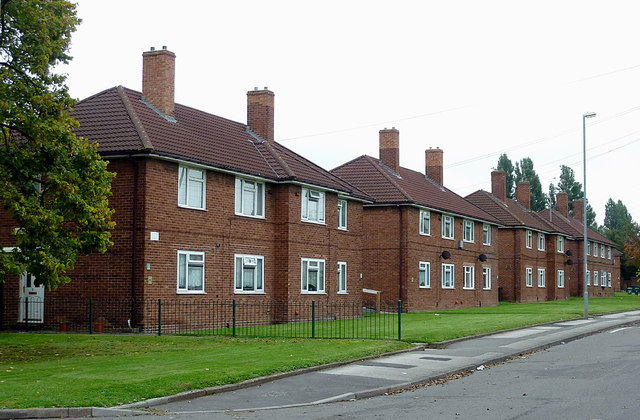 Housing in William Harper Road, Willenhall, Walsall