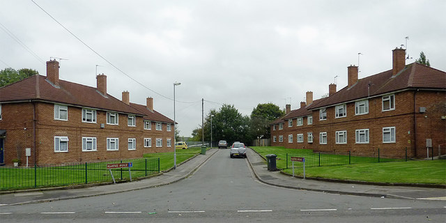 Peartree Avenue in Willenhall, Walsall