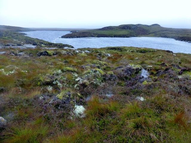 A View Across Loch Diridean