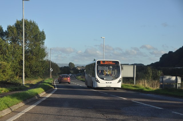West Somerset : The A39