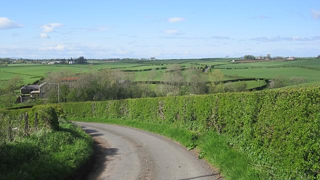 Road passing Heughmill