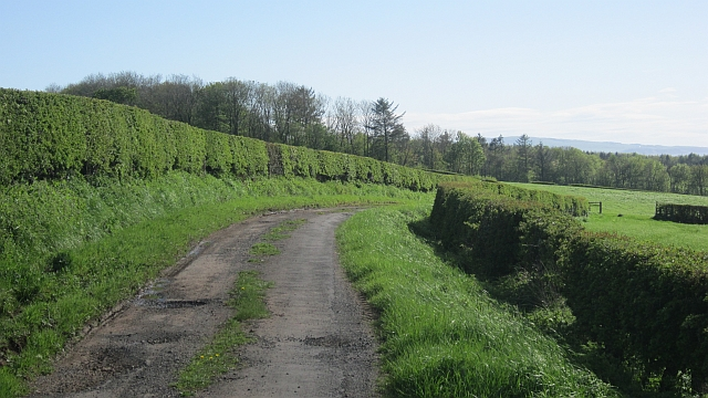 Minor road near Underhills