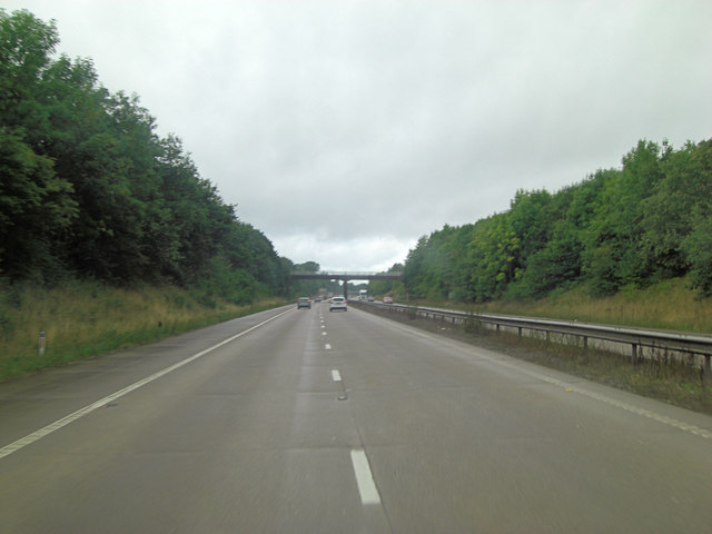 M54 north of Lower Wood Farm