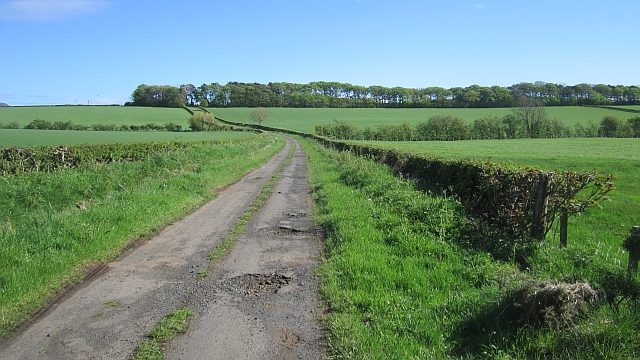 Minor road on Hill of Barnwell