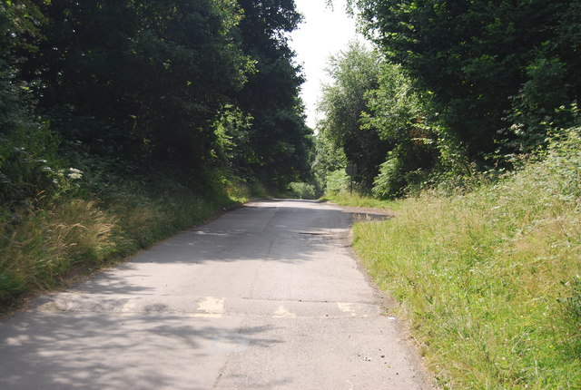 Access road from Weir Wood Reservoir
