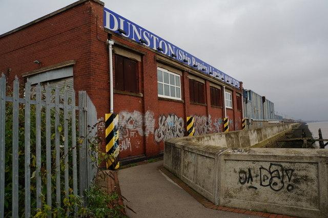 Dunston Ship Repairs at William Wright Dock