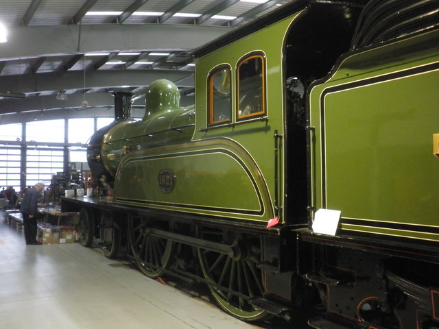 Former NER locomotive 1621 at 'Locomotion' Museum, Shildon