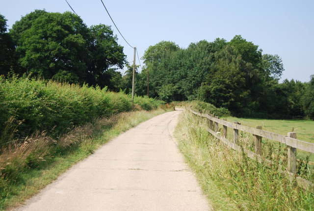 Track to Spring Hill Farm