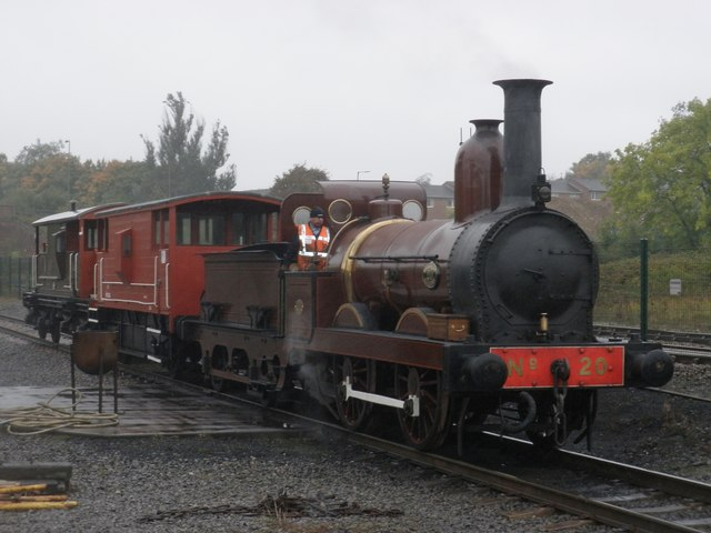 Furness Railway No20 in steam at 'Locomotion', Shildon