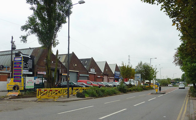 Owen Road in Willenhall, Walsall
