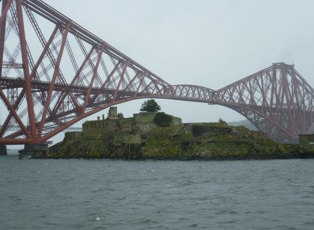 Inchgarvie and the Bridge