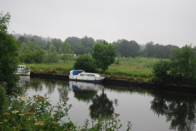 Boat on the River Yare