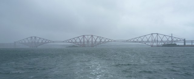 Forth Bridge from the Firth of Forth