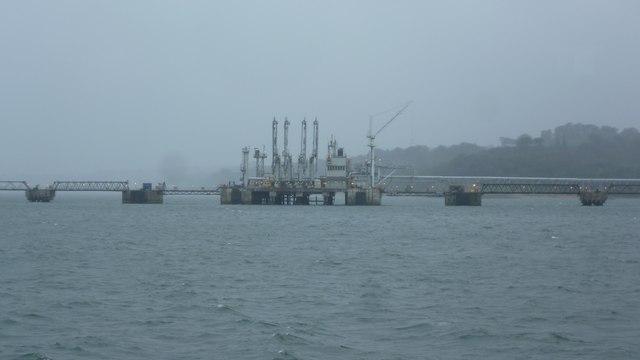 Tanker berth off Hound Point