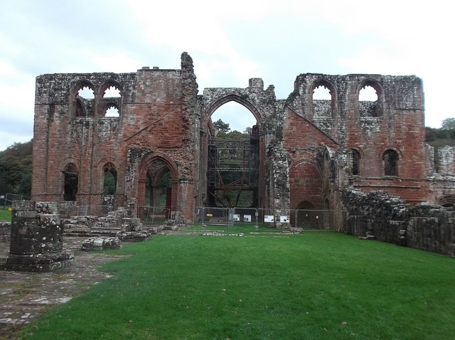 Furness Abbey - Nave and Transepts