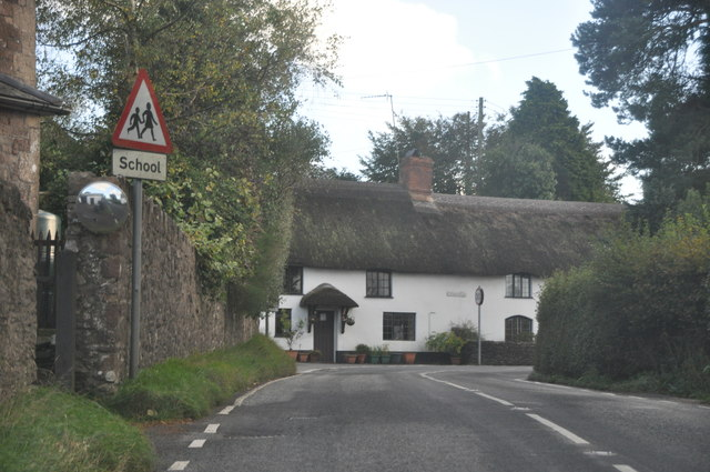 Wheddon Cross : The A396
