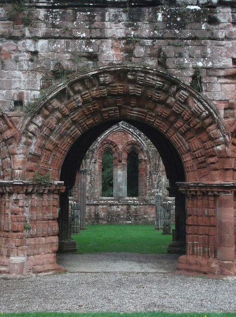 Furness Abbey - Archway to Chapter House