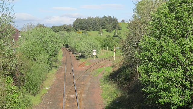 Site of Annbank Station