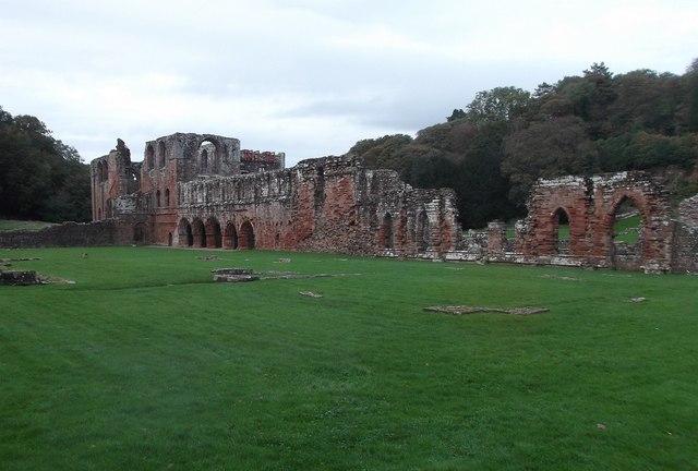 Furness Abbey - East Range