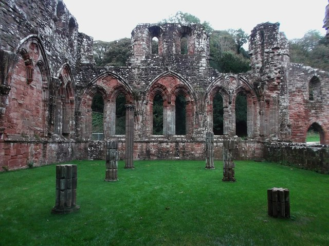 Furness Abbey - Chapter House
