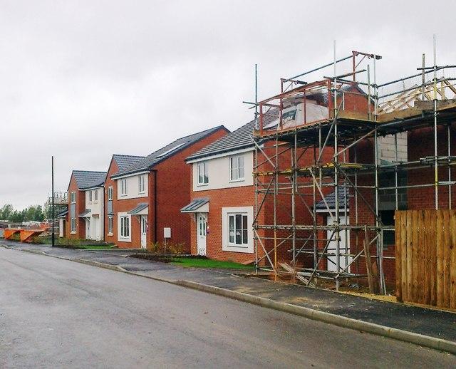 Housing development, Miller Close