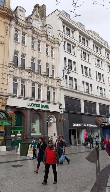 From Lloyds TSB to Lloyds Bank, Queen Street, Cardiff
