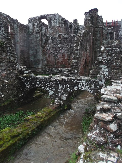 Furness Abbey - Reredorter