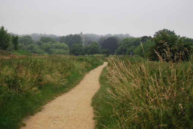 Footpath around Whitlingham Great Broad