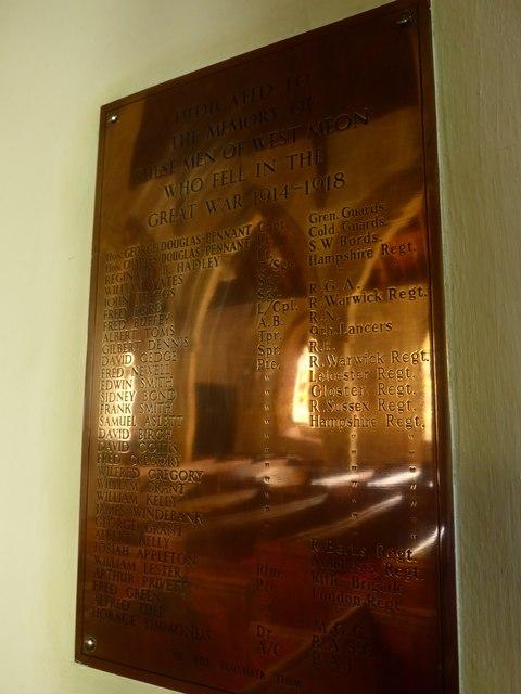 Inside St John the Evangelist, West Meon (3)