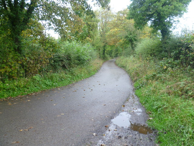 Lane at Teston