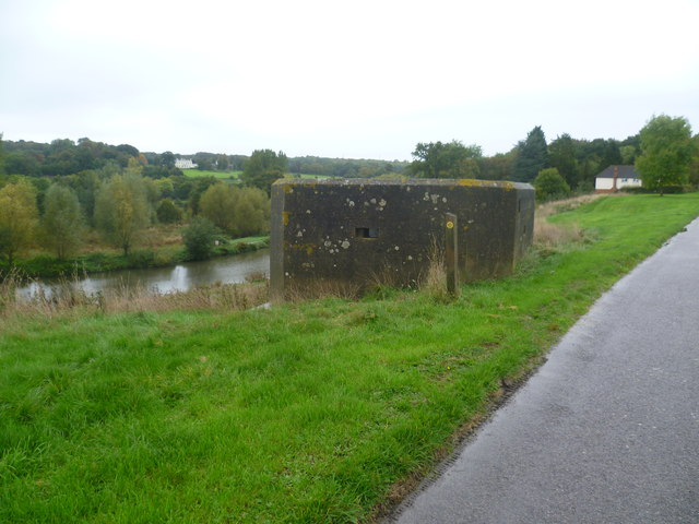 Pillbox on the Medway Valley Walk