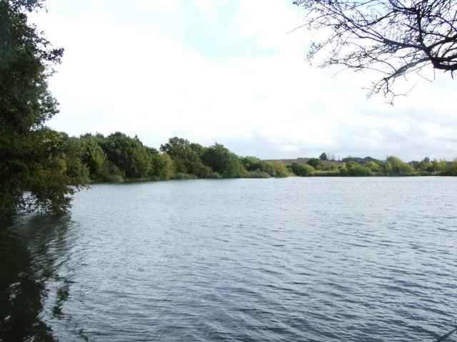 Lake at Sittingbourne Angling Club
