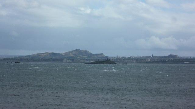 Edinburgh from Inchcolm