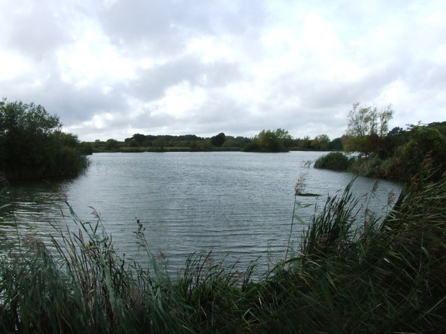 Lake at Sittingbourne Angling Club