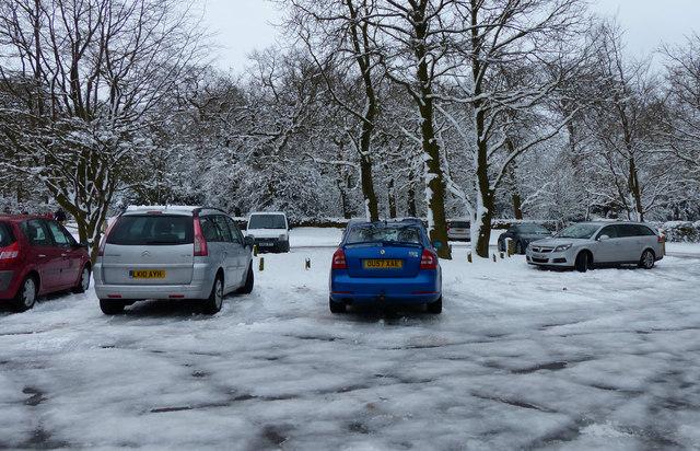Car park at Hunt's Hill