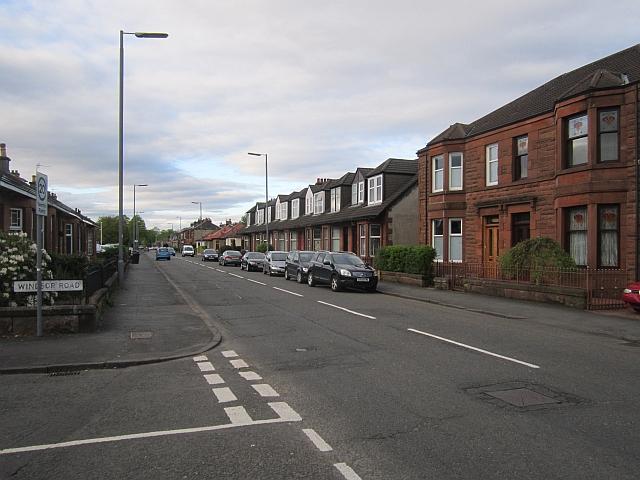 Sandy Road, Renfrew