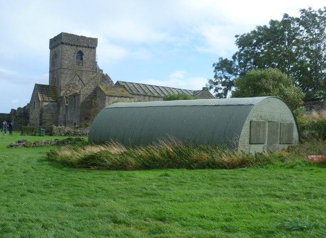 Nissen hut on Inchcolm
