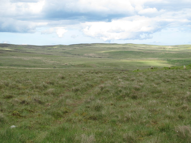 Moorland west of Silver Well