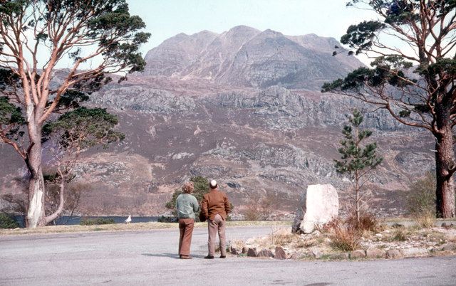 Viewpoint on the A832 for Slioch