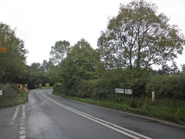 Turning for West Bagborough, on the A358