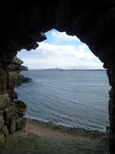 View of Edinburgh from Inchcolm Abbey