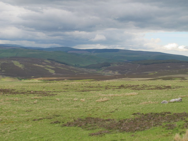 Moorland north of Spring Crag