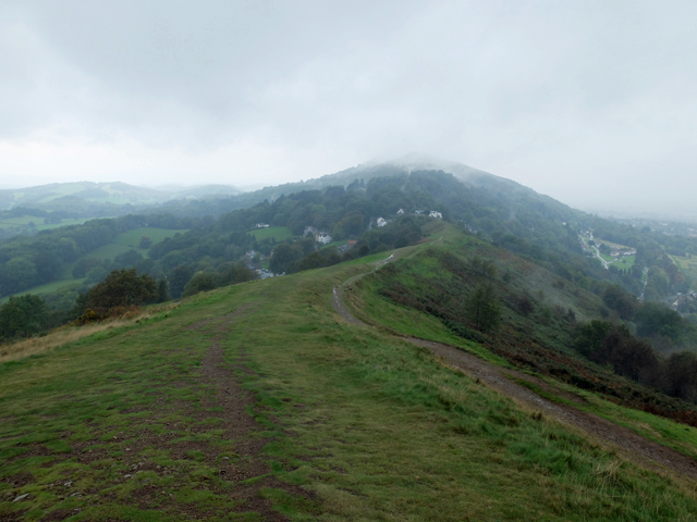 Approach to Upper Wyche
