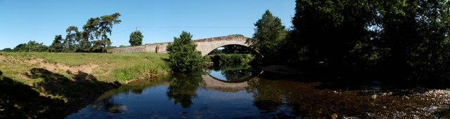 Okeover Bridge at Mappleton