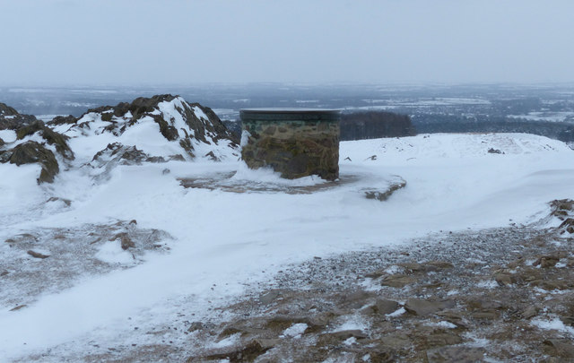 The toposcope at Bradgate Park