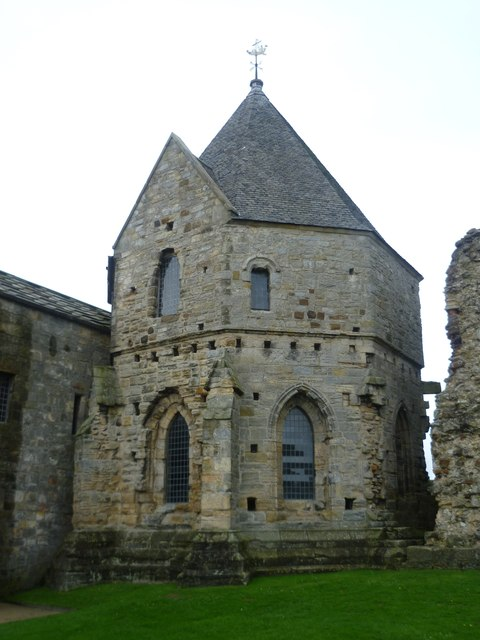 Inchcolm Abbey chapter house