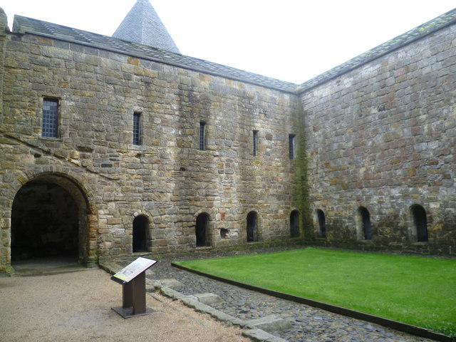Inchcolm Abbey cloister