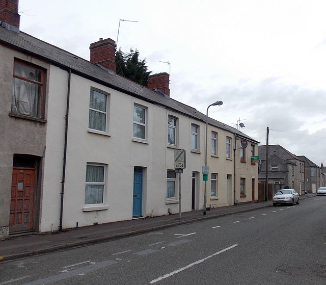 SW end of Fanny Street, Cathays, Cardiff