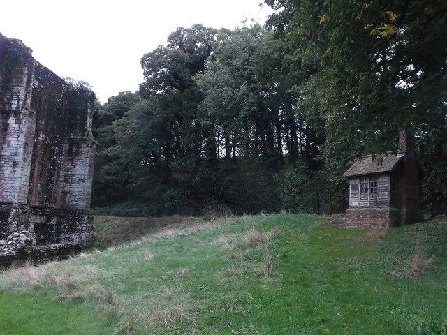 Furness Abbey - Former custodian's hut